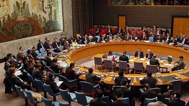 Blick in UNO-Sicherheitsrat