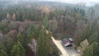 War eine Bedingungen Fulenbachs: Das gemeindeeigene Waldhaus (im Bild) darf nicht dem Kiesabbau zum Opfer fallen.