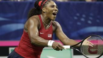 Serena Williams hadert mit ihrem Spiel