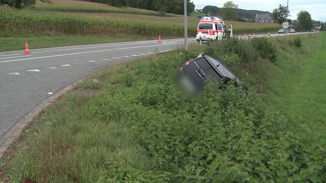 Unfall in Waltenschwil