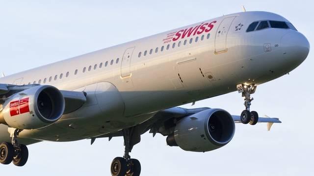 Eine Maschine der Swiss musste umkehren, weil der Co-Pilot einen Migräneanfall hatte (Symbolbild)