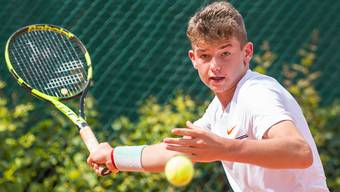 Der 14-jährige Jérôme Kym  aus Möhlin hat in Prag bei einem ITF-Turnier der Altersklasse U18 den Final erreicht.
