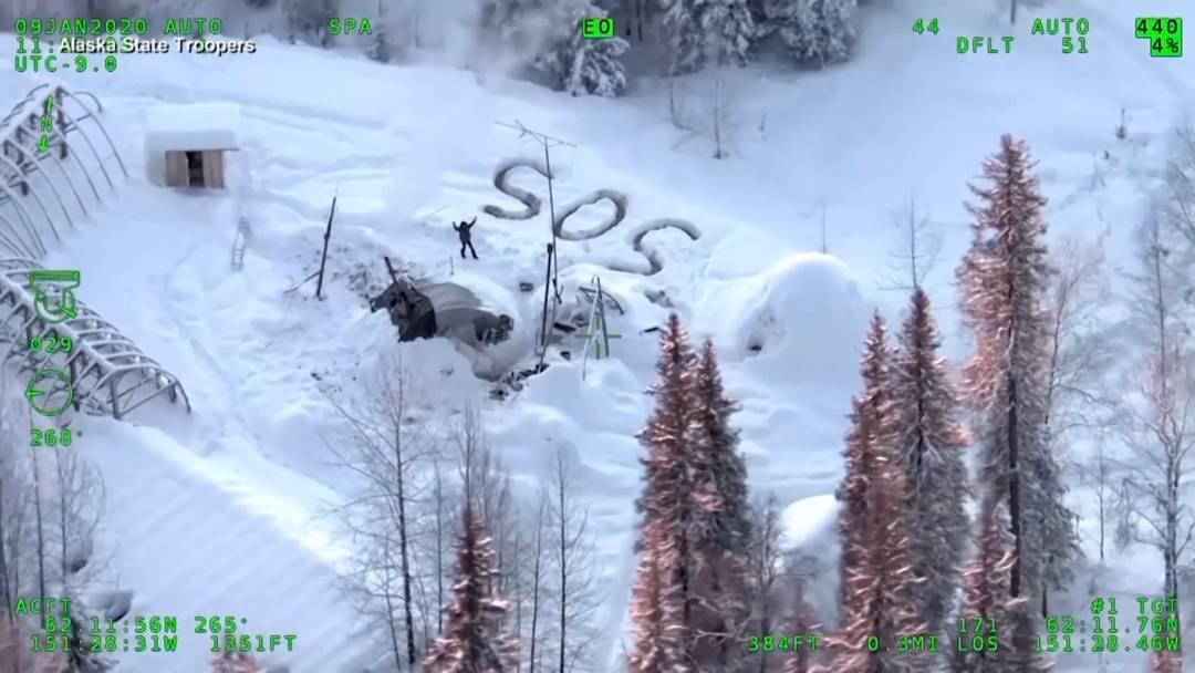Alaska: Mann überlebt fast drei Wochen in der eiskalten Wildnis