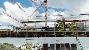 In Aarau ist der neue Hauptsitz der Swissgrid im Bau.