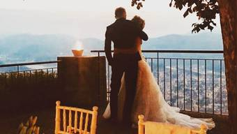 Diese Hochzeit kommt überraschend: Skistar Lara Gut und Fussballer Valon Behrami gaben sich heimlich das Ja-Wort.