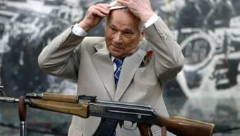 Michail Kalaschnikow im Jahr 2007 (Archiv)