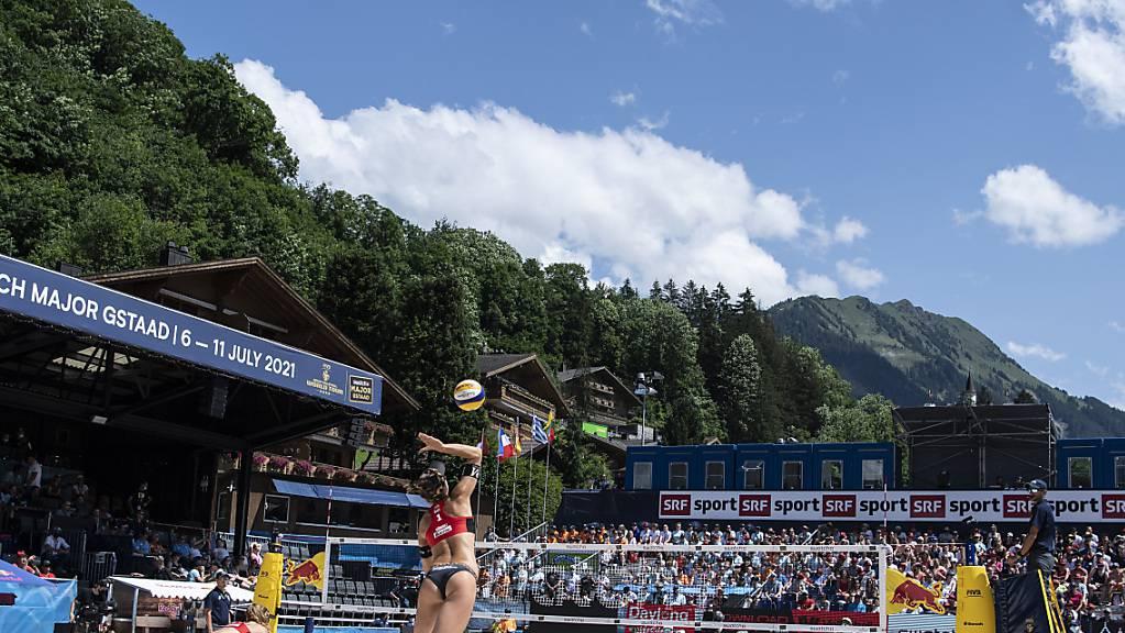 Die globale Turnierserie der Beachvolleyballer erhält ein neues Kleid – Gstaad bleibt in der höchsten Kategorie.