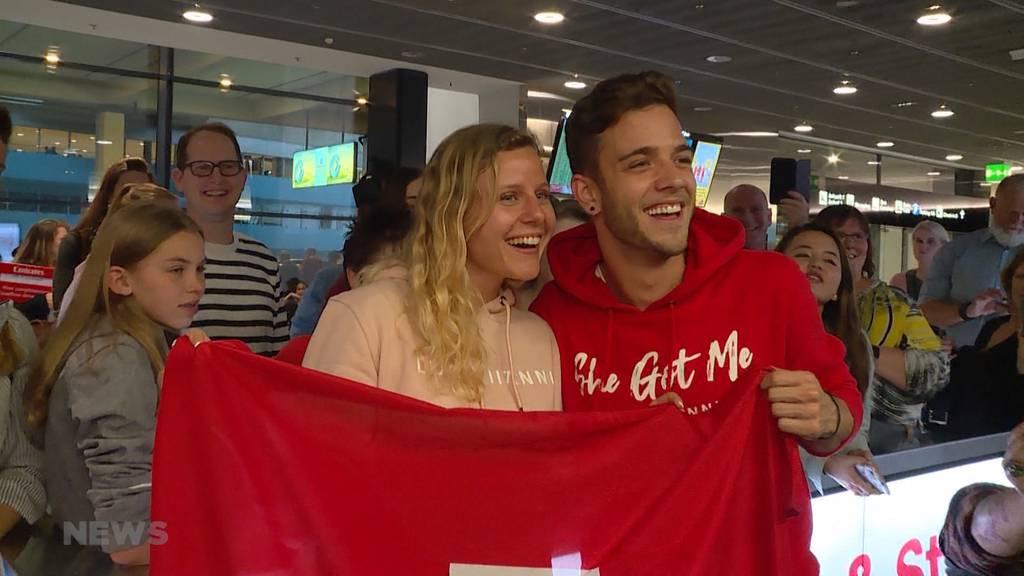 Luca Hänni nach ESC-Reise wieder zu Hause