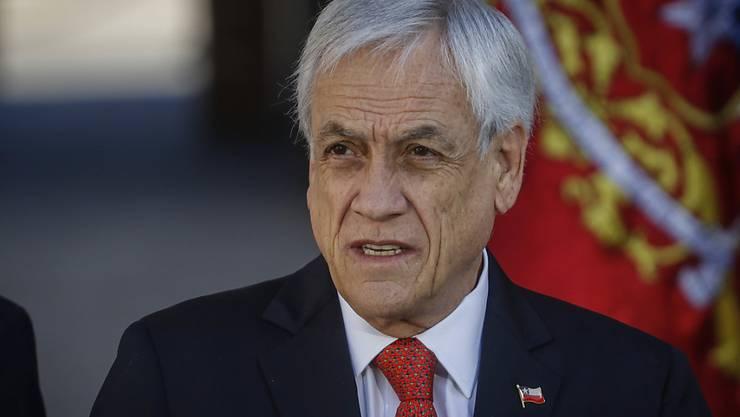 ARCHIV - Der chilenische Präsident Sebastián Piñera. Foto: Sebastian Beltran Gaete/Agencia Uno/dpa