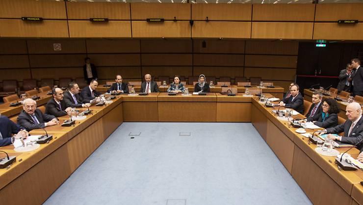 Unter Vermittlung der Vereinten Nationen hat am Donnerstag in Wien die neunte Runde der Syrien-Verhandlungen begonnen.