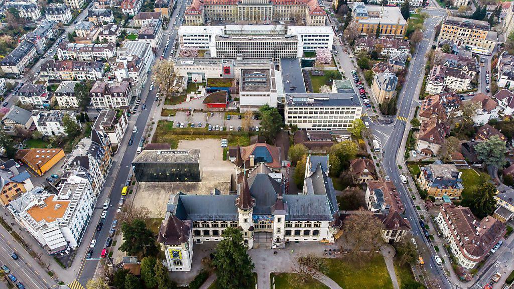 Blick auf das Gelände, das zum Berner Museumsquartier werden soll.