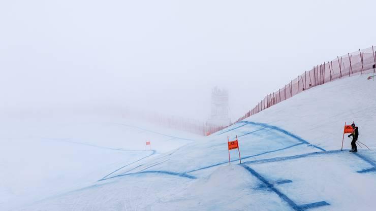 Der Nebel hat allen einen Strich durch die Rechnung gemacht: Die Abfahrt muss abgesagt werden.