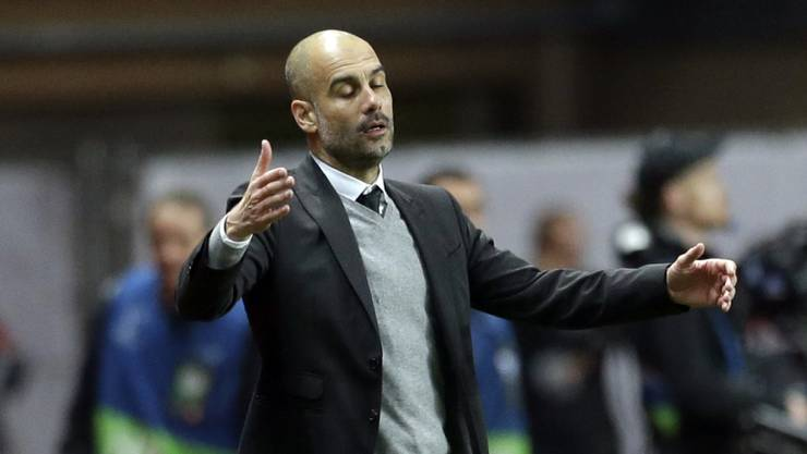 Pep Guardiola steht mit Manchester City in der Premier League vor wegweisenden Wochen