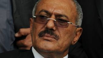 Jemens Präsident Ali Abdullah Saleh - er soll innert eines Monats den Hut nehmen (Archiv)