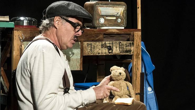 Der Theatermacher Jörg Bohn wird «Bruno Hasenkind» zeigen.