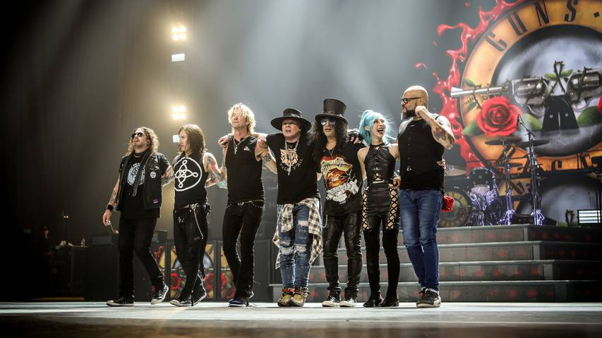 Guns N' Roses - Rocklegende wieder in Europa!
