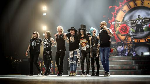 Guns N' Roses - Rocklegende wieder in Europa!