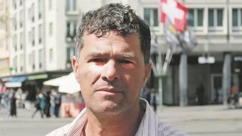 «Üble Deals»: Aktivist Celso Ribeiro Barbosa sprach in Basel über Syngentas illegale Versuchsfelder in Brasilien.