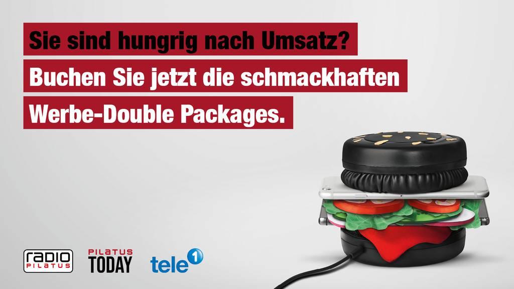 Schmackhafte Angebote mit unseren Werbe-Double Packages