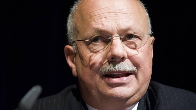 Der Verwaltungsrat schlägt den Privatbankier Konrad Hummler als Nachfolger von Meyer vor (Archiv)