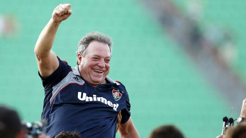 Abel Braga, hier beim Sieg in der brasilianischen Meisterschaft im November 2012.