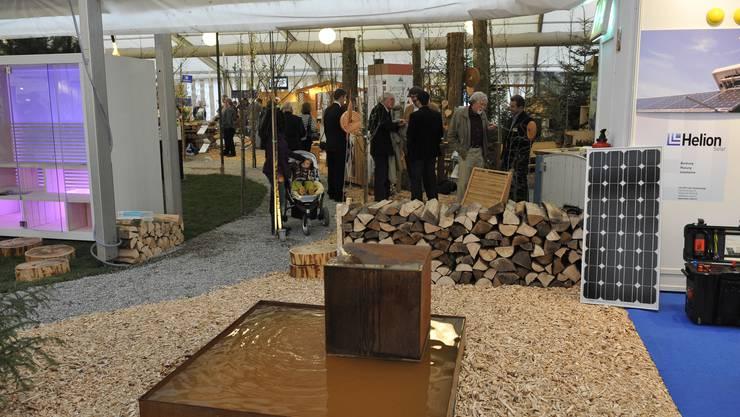 Eröffnung der SOCASA vor zwei Jahren. Da fand die Messe noch in der Reithalle Solothurn statt.