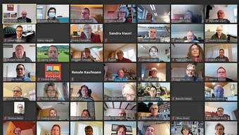 Am ersten Tag des Gemeindeseminars nahmen rund 80 Personen teil – natürlich virtuell.