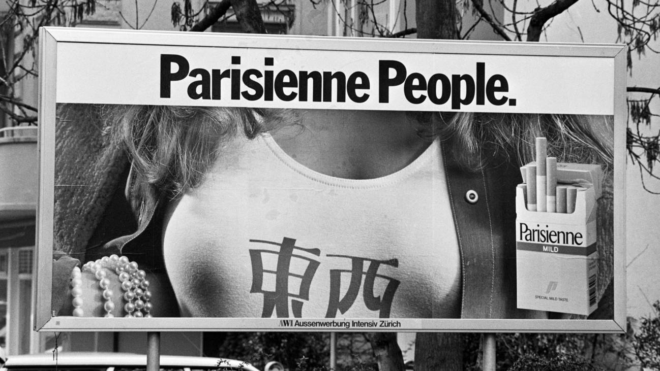 Parisienne Werbung 1991