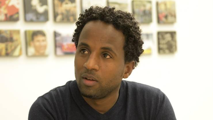 Yemane Johannes steht kurz vor der Lehrabschlussprüfung.