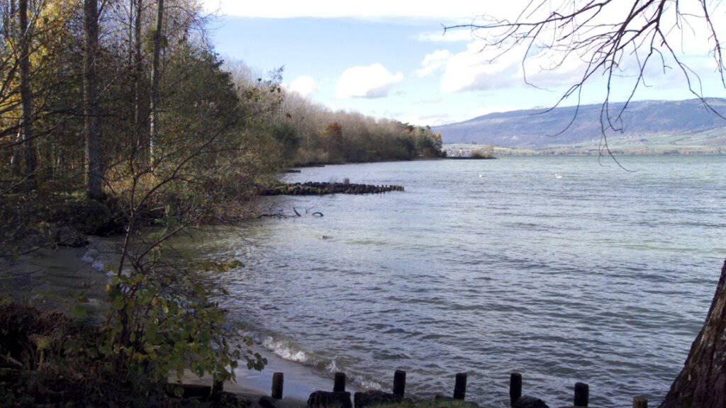 In einem sumpfigen Gebiet am Ufer des Neuenburgersees wurde die junge Genferin im Novemer 2017 tot aufgefunden. (Archivbild)