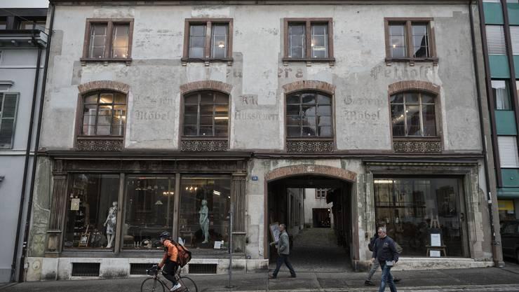 150-jährig und noch beinahe unverändert: Der Petershof am Petersgraben.
