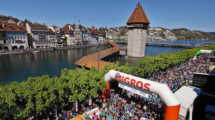 Sieben Stunden live! Der 42. Luzerner Stadtlauf
