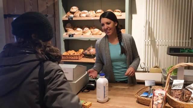 Claudia Zimmermann vom Biohof Küttigkofen: «Wir wollten einen Laden machen, in dem wir Produkte direkt an den Kunden verkaufen können.»