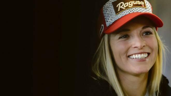Lara Gut: «Ragusa ist mein Hauptsponsor. Wenn beim Verband ein neuer Sponsor der gleichen Branche einsteigt, dann käme es zu einer Konfliktsituation.» Foto: Jean-Christophe Bott/Keystone