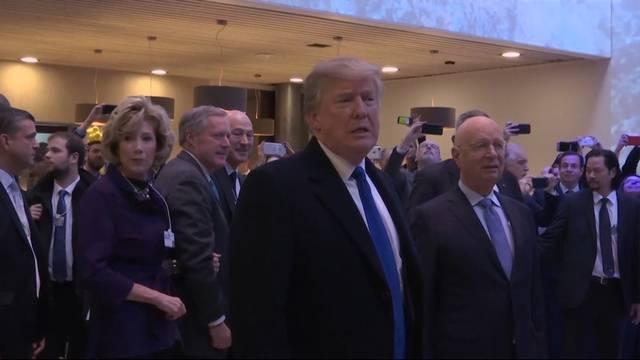 Trumps enger Zeitplan in Davos