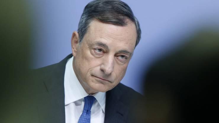 EZB-Präsident Mario Draghi will alle Instrumente nutzen, die ihm zur Verfügung stehen.