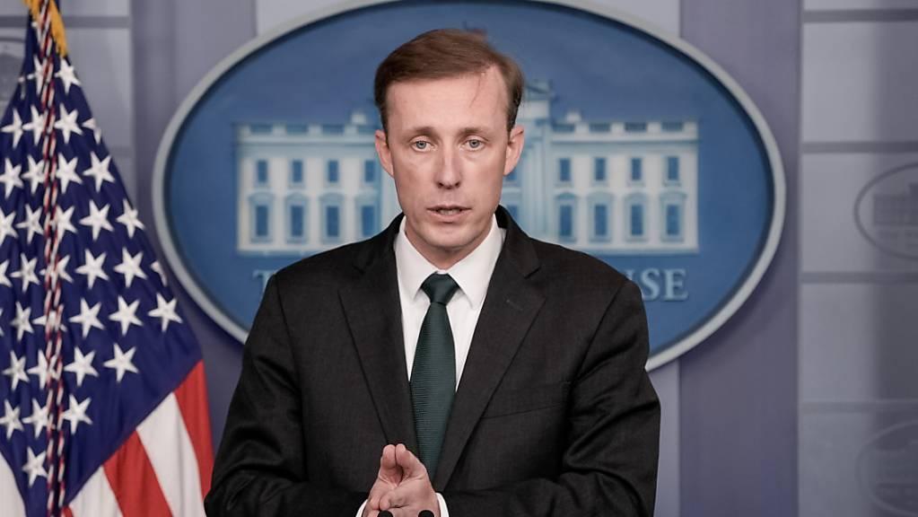 Jake Sullivan, der Nationale Sicherheitsberater der USA, wird am Mittwoch den chinesischen Spitzendiplomaten Yang Jiechi in Zürich treffen. (Archivbild)