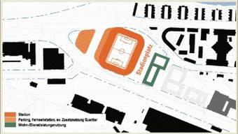 Karte Hardturmstadion