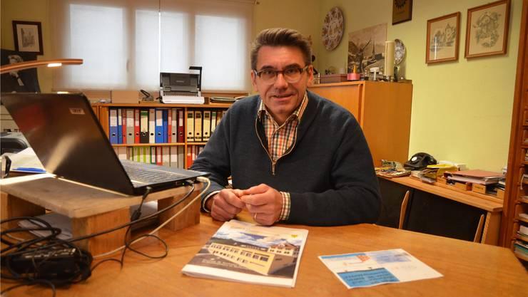 Urs Giger, Noch-Gemeindeammann, Mühlau: «Die Einhaltung von Gesetz und Verfassung sind für mich nicht verhandelbar.» Eddy Schambron