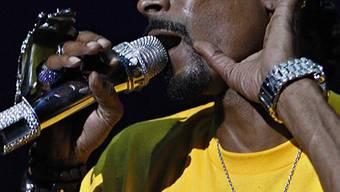 War in seinem Element: Snoop Dogg (Archiv)