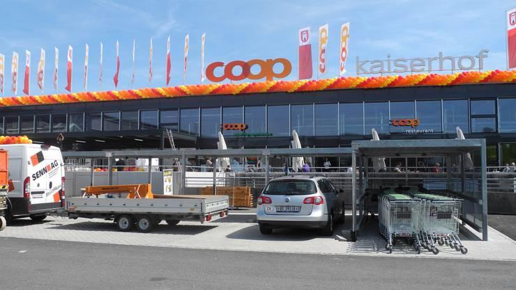 Der neu eröffnete Coop Kaiserhof.