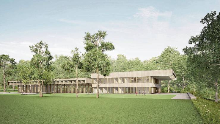 In der überarbeiteten Version hat es 3800 Quadratmeter. Bild: zvg/Stoos Architekten