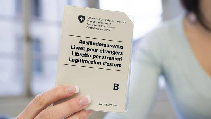 B-Aufenhaltsbewilligungen sind in der Schweiz käuflich, im Gegensatz zum Pass.