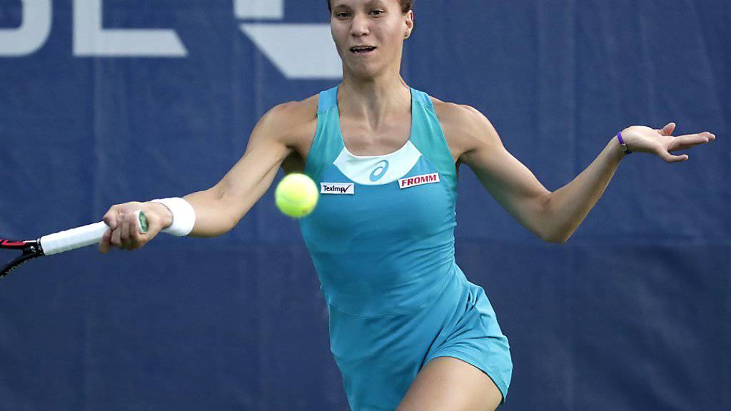 Viktorija Golubic verpasste in Linz den Final, den sie im Vorjahr erreicht hatte.