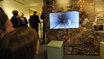 Die Vernissage zum 100. Jubiläum des Grenchenbergtunnels