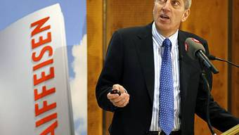 Pierin Vincenz, CEO Raiffeisen (Archiv)