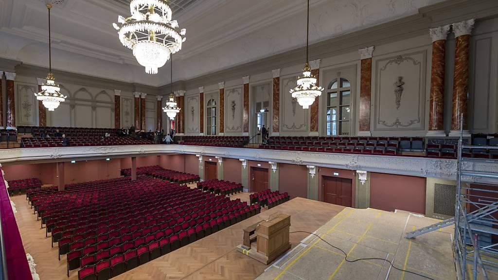 Das Sinfonieorchester Basel hofft, den Musiksaal im Basler Stadtcasino wieder füllen zu können.