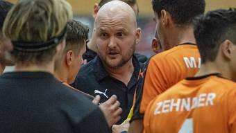 Der isländische Trainer Adalsteinn Eyjólfsson kehrte mit den Kadetten auf die Spitzenposition in der Rangliste zurück