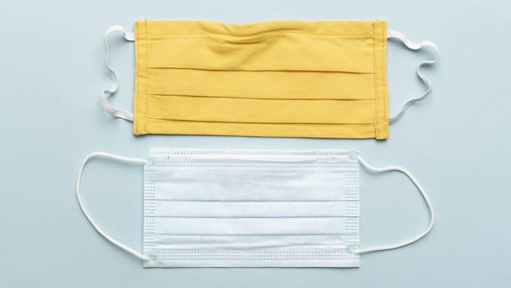 Welche Maske schützt besser? Die selbstgemachte Textilmaske oder die Hygienemaske?