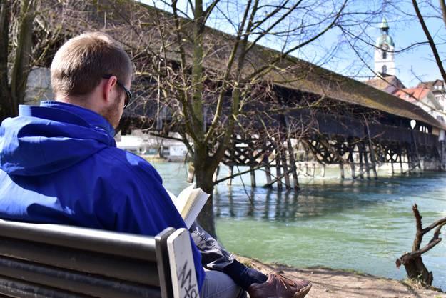 Auch beliebt: Mit einem Buch an die Sonne sitzen